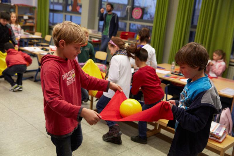 Verkehrserziehung Mobilitätsbildung Bewegung Grundschule