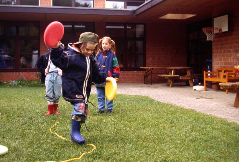 Verkehrssicherheit Kindergarten Kinder Bewegung Intelligenz Motorik