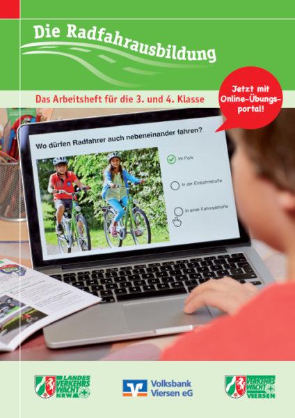 Verkehrswacht Die Radfahrausbildung Vw Viersen Cover Aktion