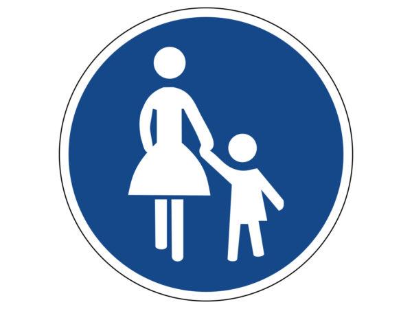 Verkehrszeichen 250 Verbot Fuer Fahrzeuge Aller Art Radfahrausbildung Grundschule Parcours