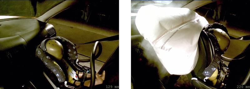 Babyschale Vorne Crashtest Verkehrssicherheit Auto Kindersrückhaltesystem