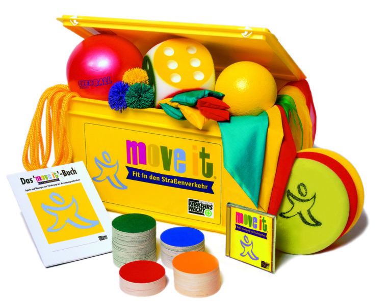Move It Bewegung Bewegungsförderung Grundschule Verkehrserziehung Move It Box