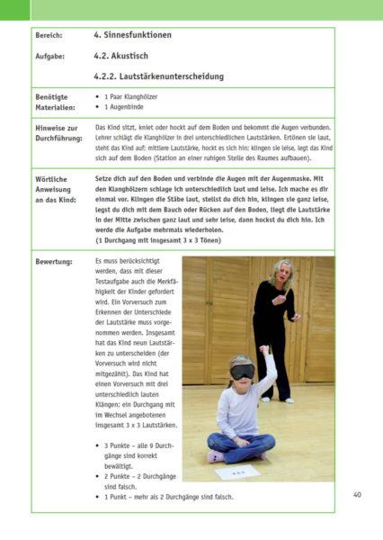 Velofit Handbuch Screening Akustische Sinnesfunktion Lautstaerkenunterscheidung Beispielseite 40